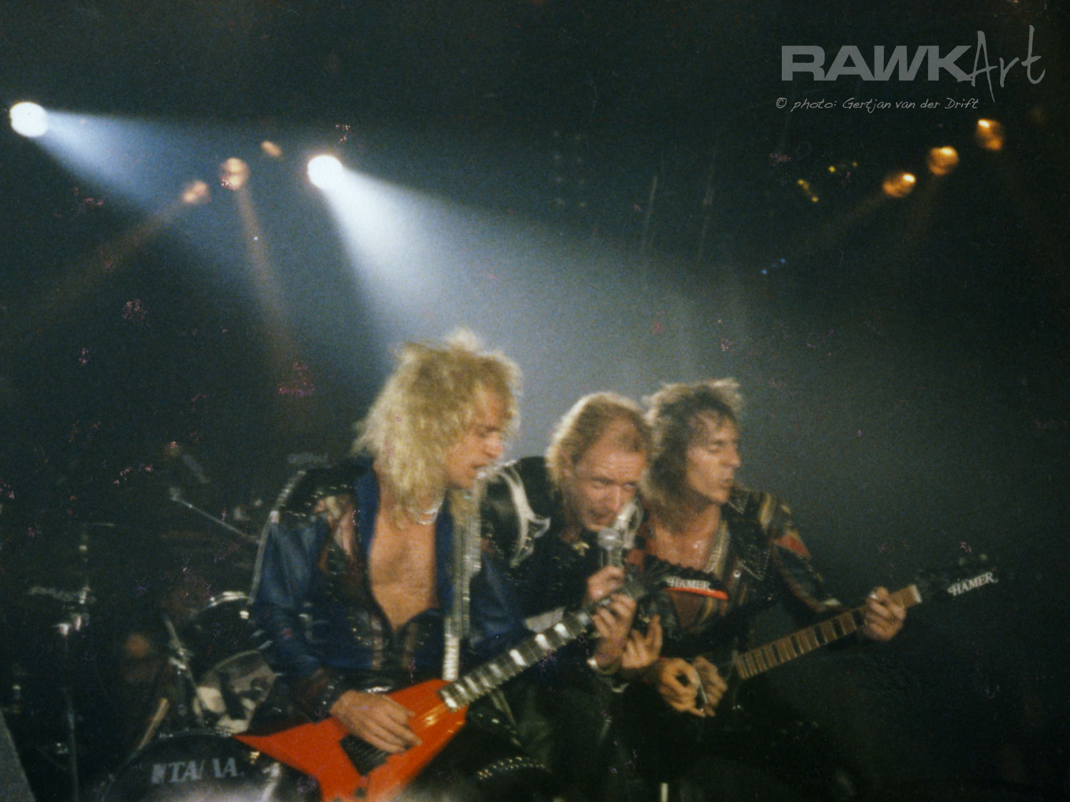 Judas Priest at IJsselhallen, Zwolle, Netherlands 1986, Fuel For Life