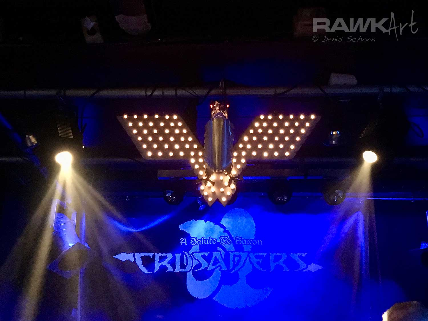 Crusaders - a Salute to Saxon at Backstage, Nijmegen, The Netherlands