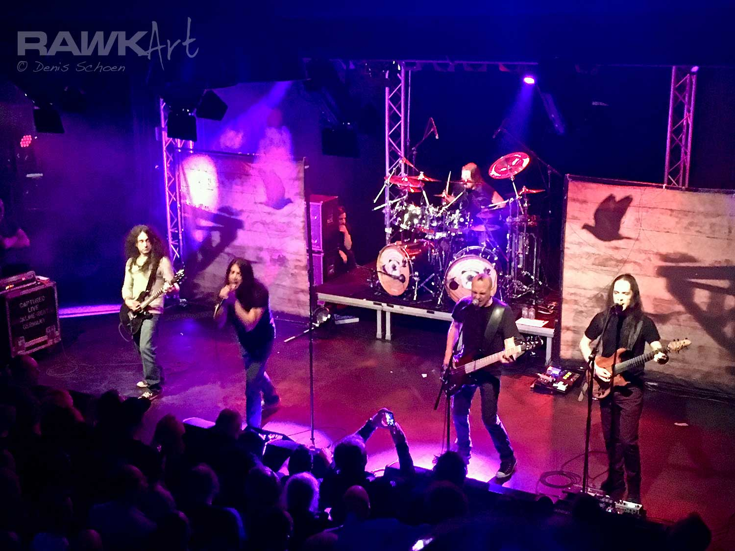 Fates Warning at De Pul, Uden, Netherlands, Theories of Flight Tour 2017