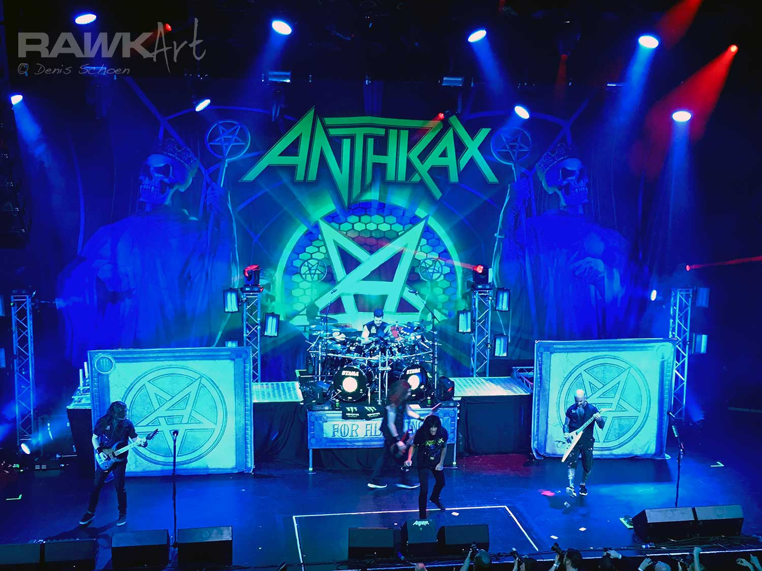 Anthrax at TivoliVredenburg Ronda, Utrecht, Netherlands 2017, Among the Kings