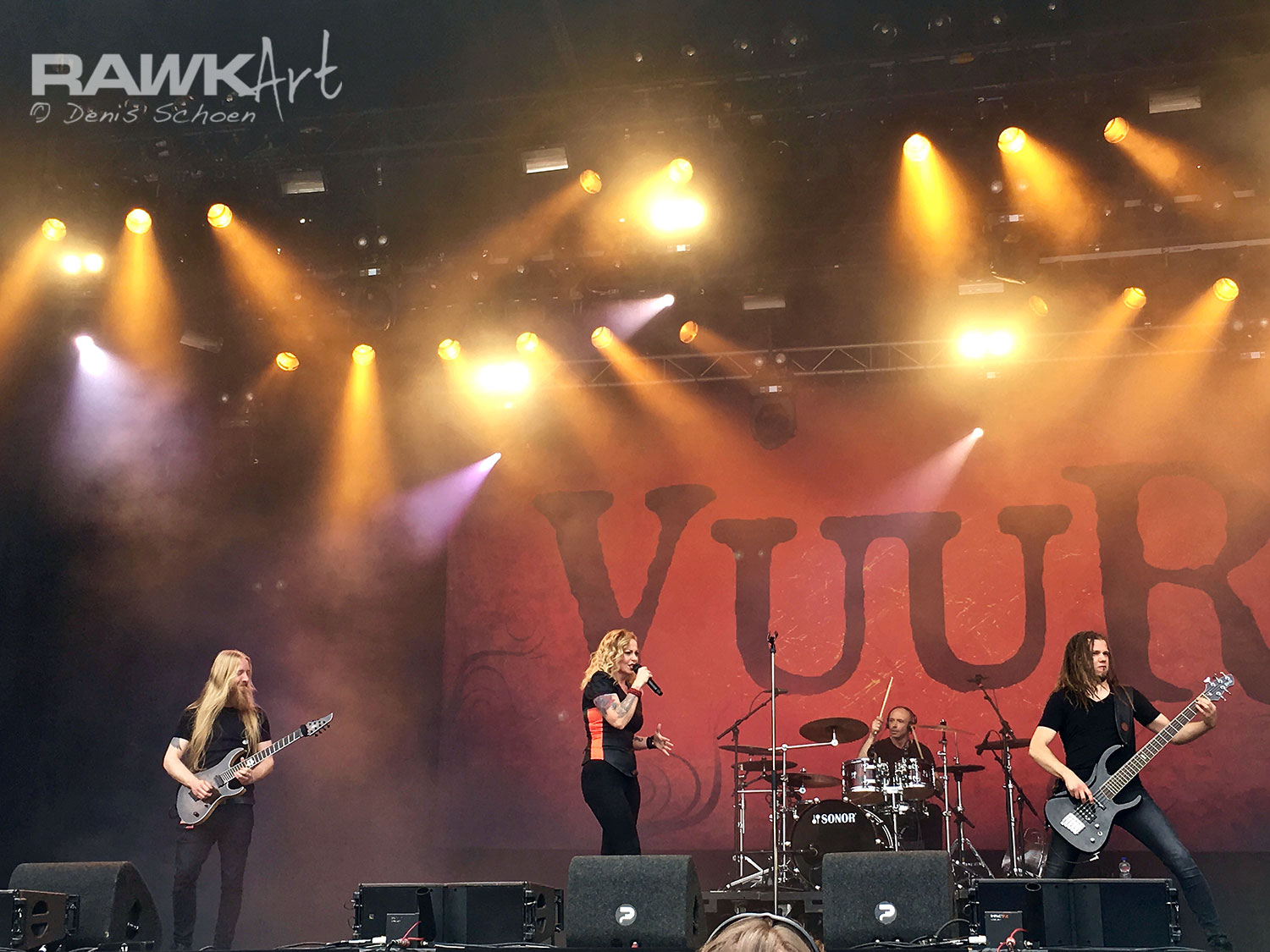 VUUR Setlist Dynamo Metal Fest 2017 , during their 'In This Moment We Are Free - Cities-tour'