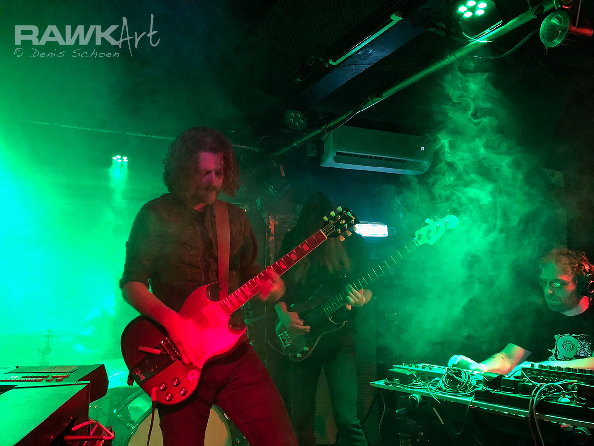 Monomyth - Little Devil Cafe, Tilburg, Netherlands 2017