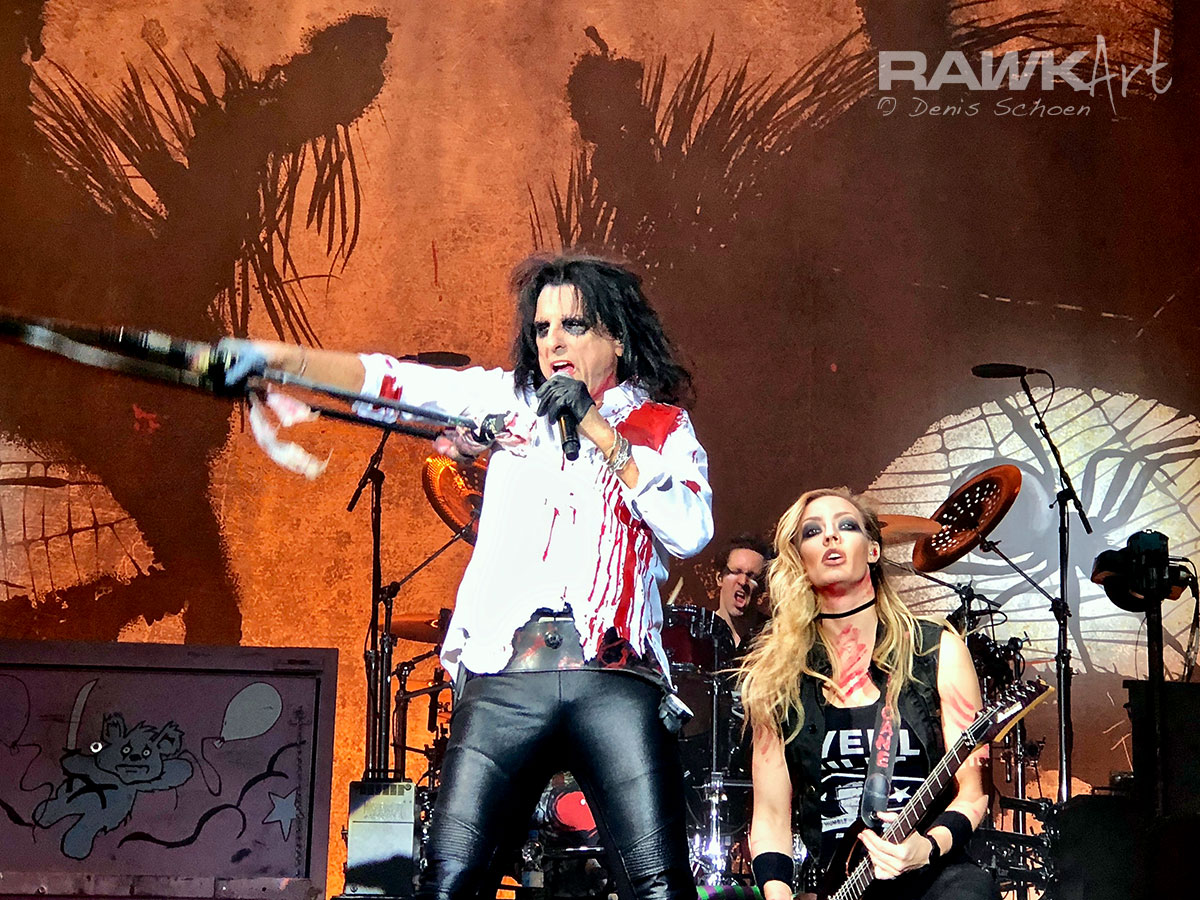 Alice Cooper - Poppodium 013, Tilburg, Netherlands 2017, Spend the Night with Alice Cooper