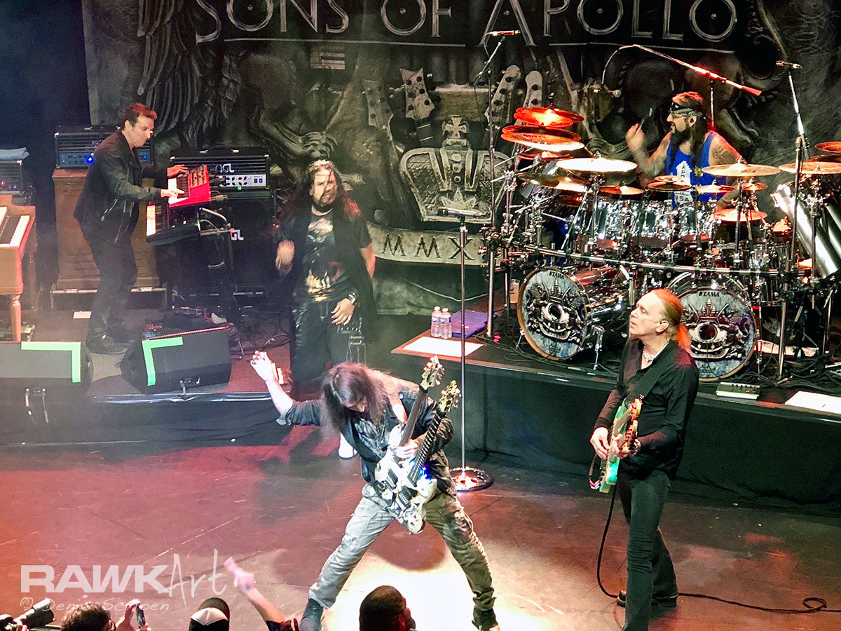 Sons of Apollo at Neushoorn, Leeuwarden, Netherlands 2018, Psychotic Symphony