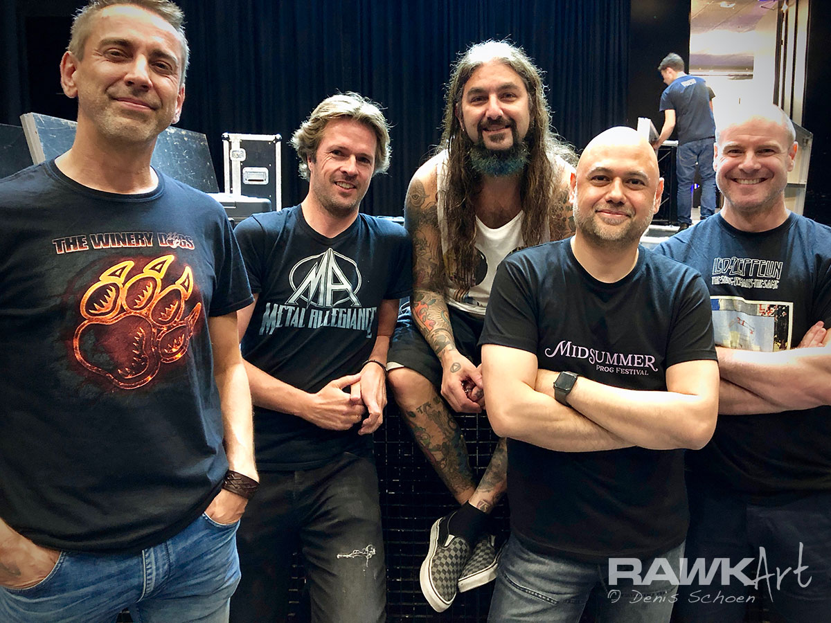 Me, Mike Portnoy and some friends