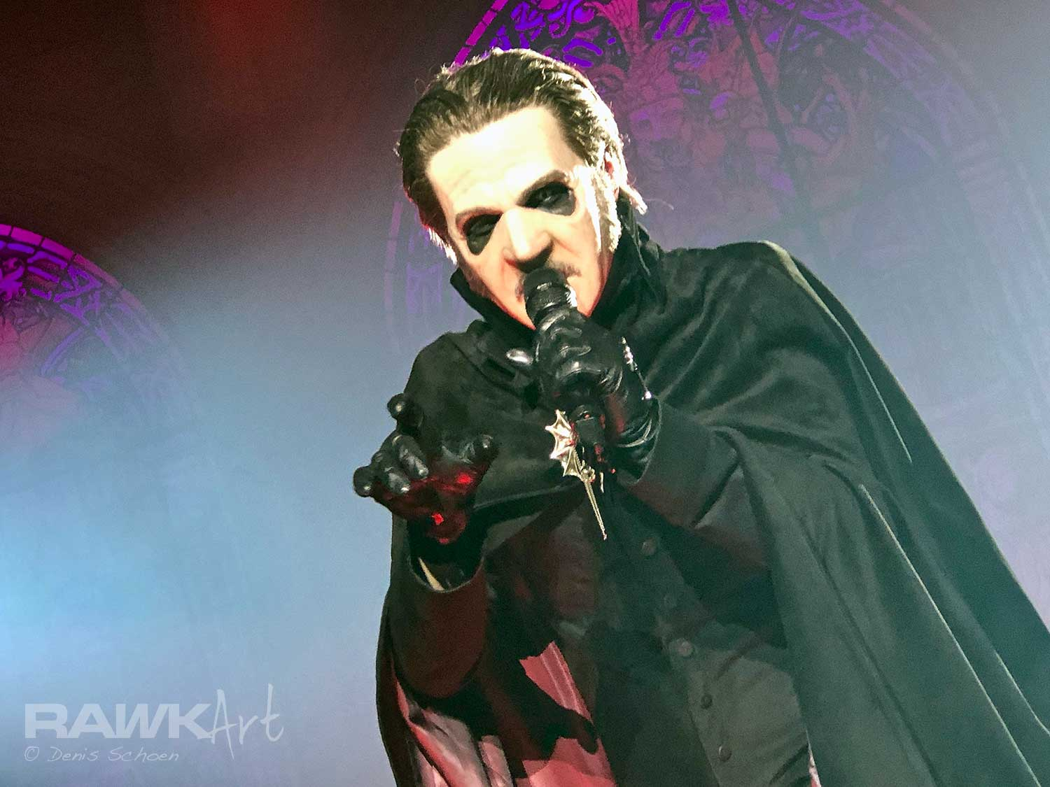 Ghost at AFAS Live, Amsterdam, Netherlands 2019, A Pale Tour Named Death