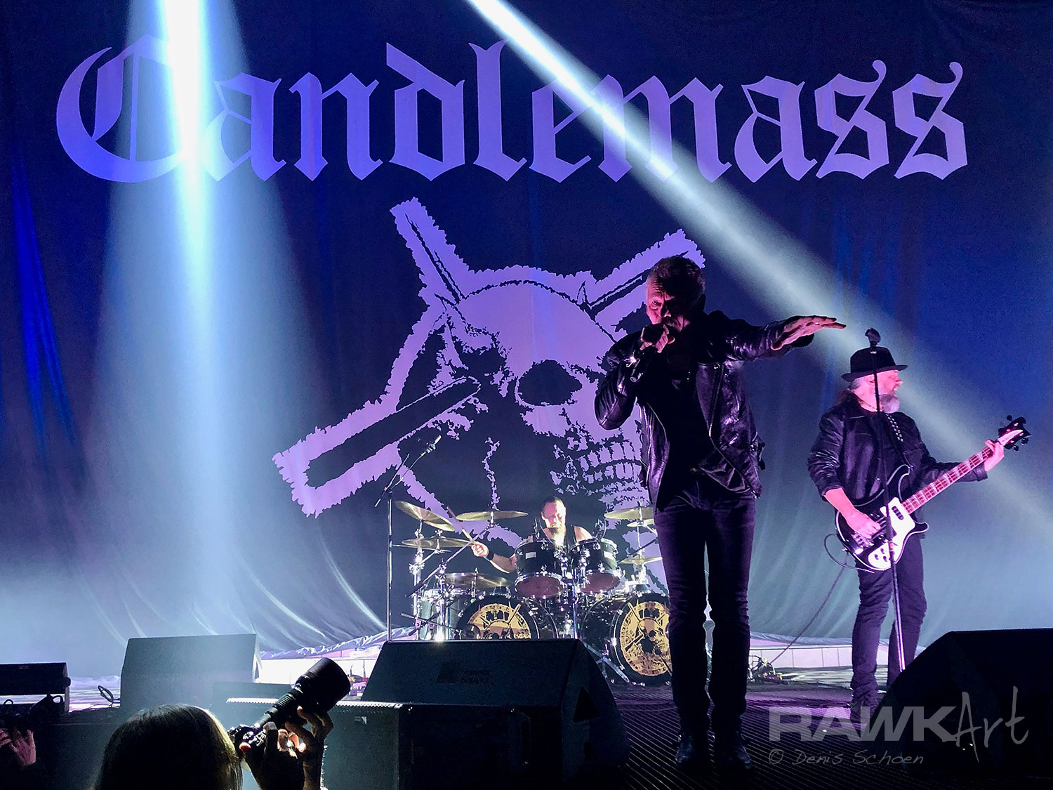 Candlemass at RuhrCongress, Bochum, Germany 2019