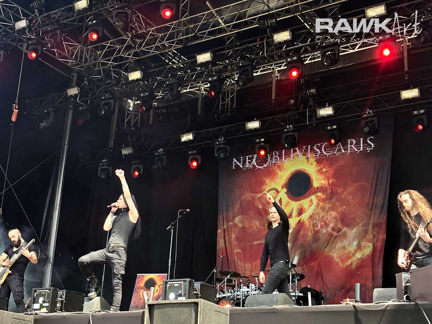 Ne Obliviscaris at FortaRock 2019