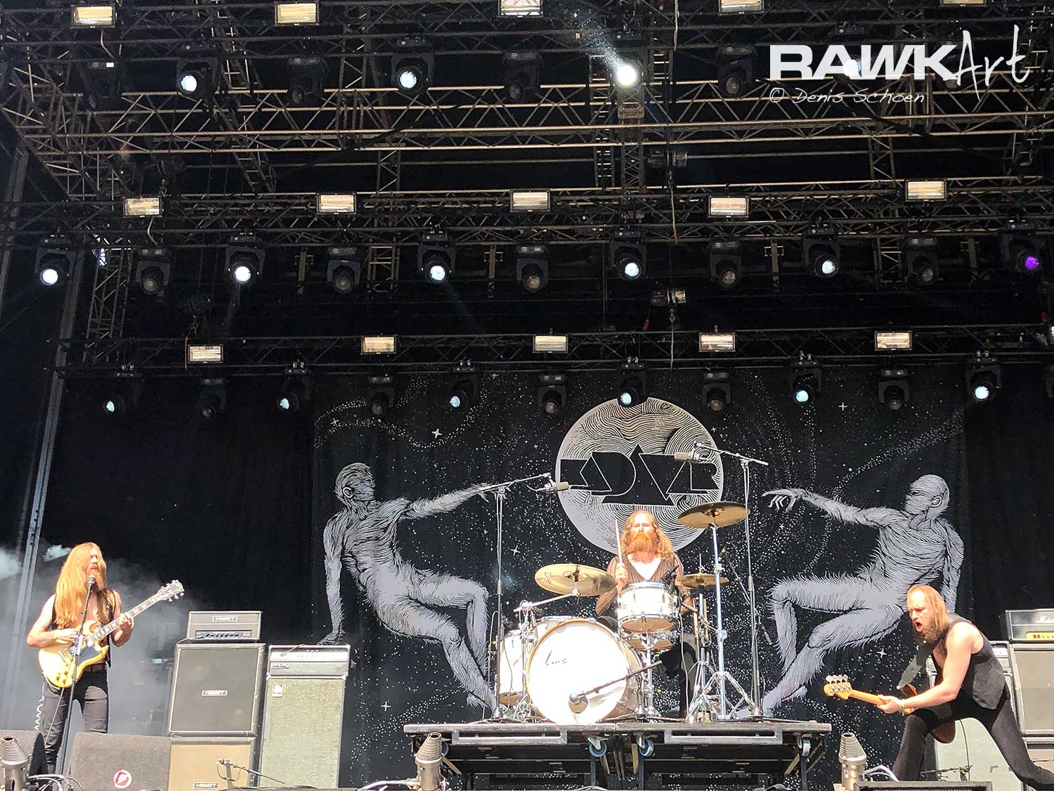 Kadavar at FortaRock 2019