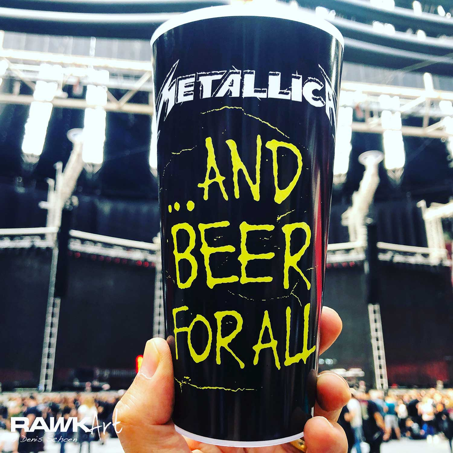 Metallica at Johan Cruyff Arena, Amsterdam, Netherlands 2019, Worldwired Tour