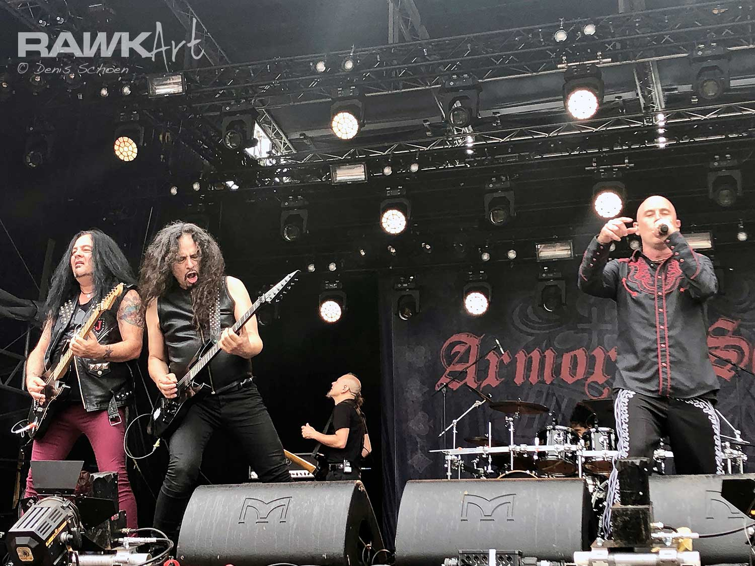 Armored Saint at Dynamo Metal Fest 2019