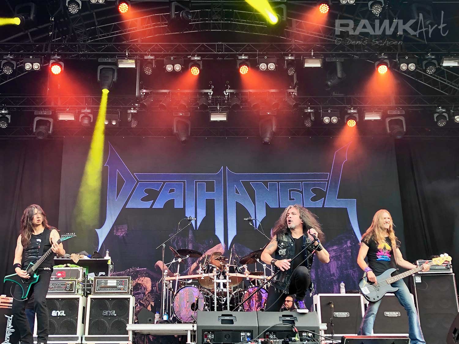 Death Angel at Into The Grave 2019