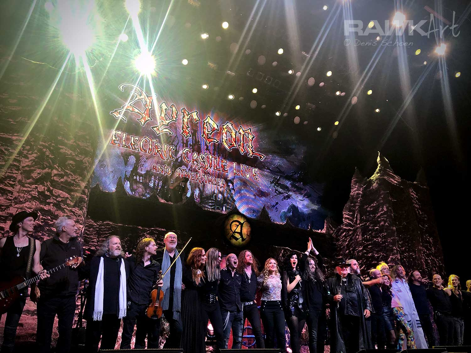 Ayreon Setlist Poppodium 013, Tilburg, Netherlands 2019, Into The Electric Castle Live and Other Tales