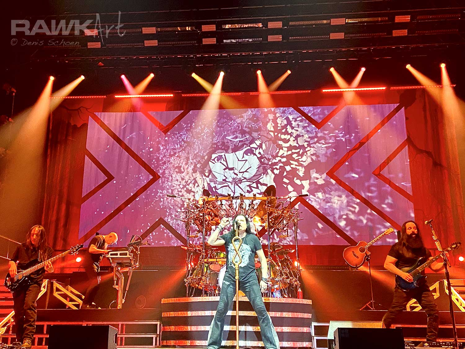 Dream Theater at AFAS Live, Amsterdam, Netherlands 2020, Distance over Time