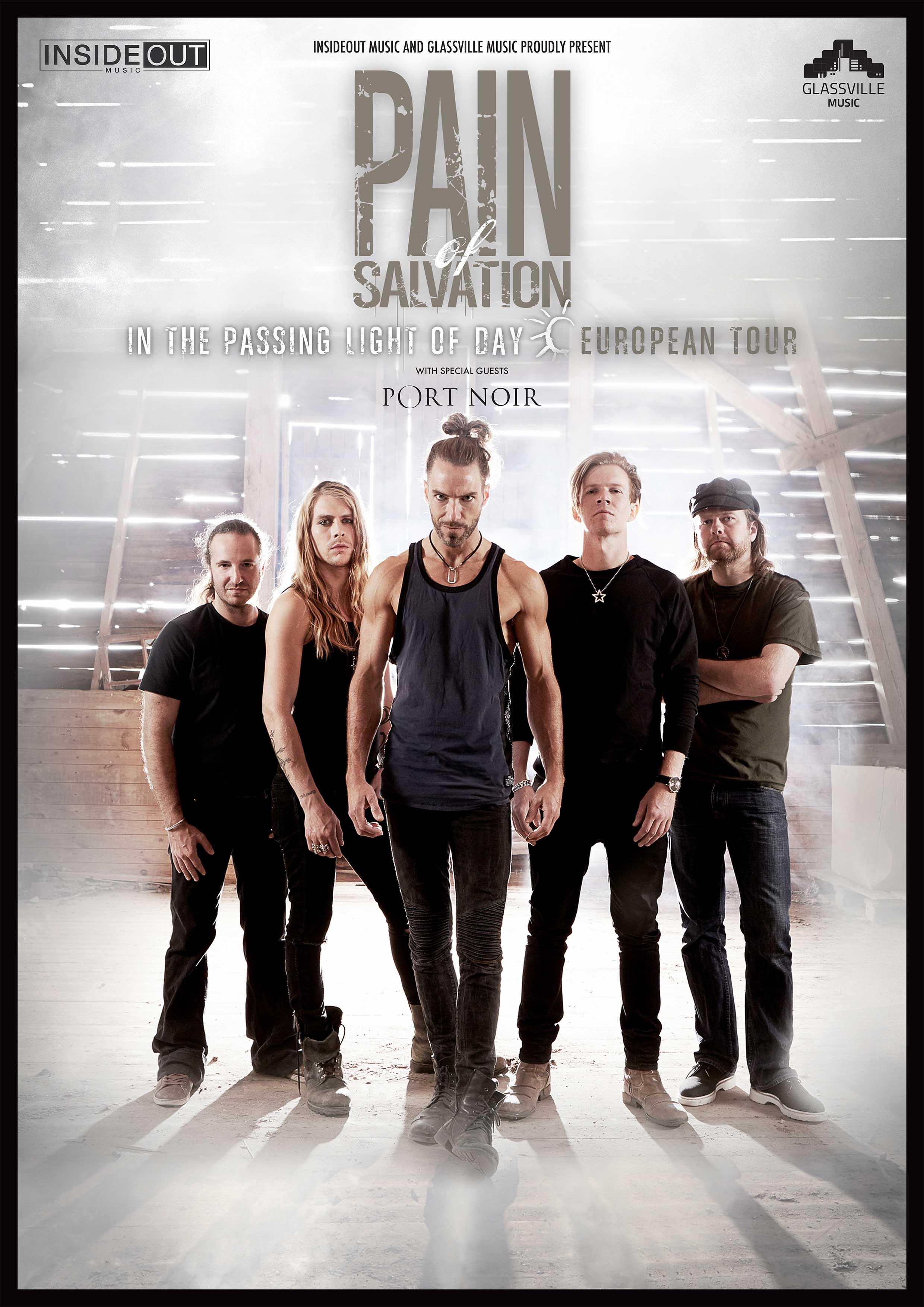 Pain of Salvation 2017 Tour Poster