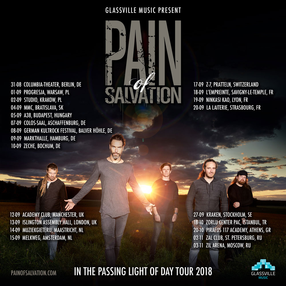 Pain of Salvation 2018 Tour promo