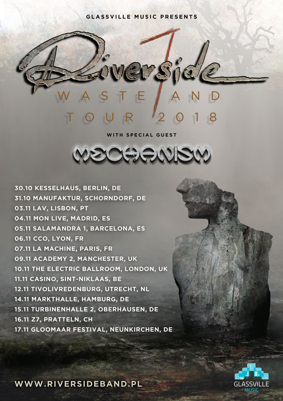 Riverside 2018 Tour European Leg