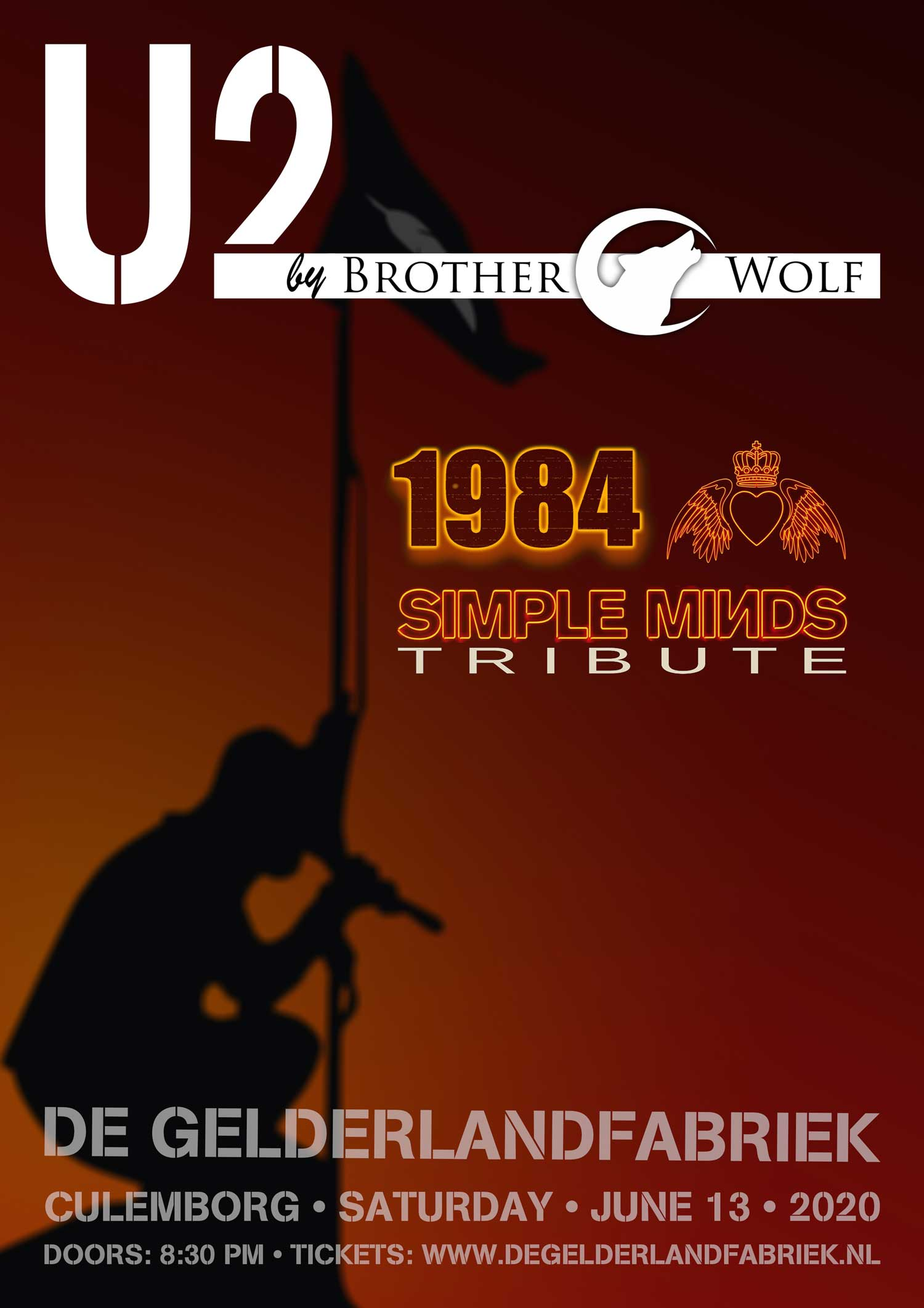 Tribute Night to U2 & Simple Minds