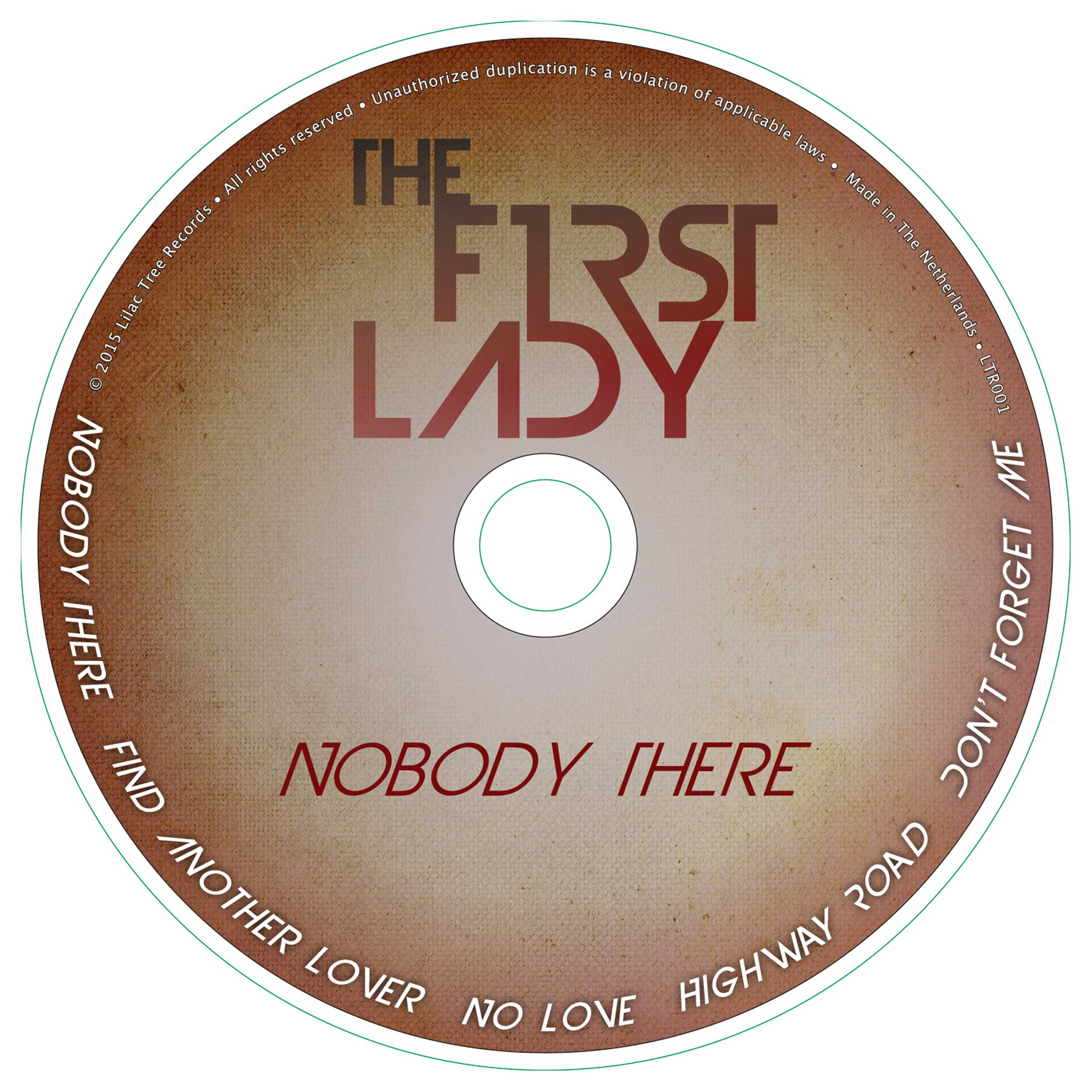 The First Lady - 'Nobody There' CD