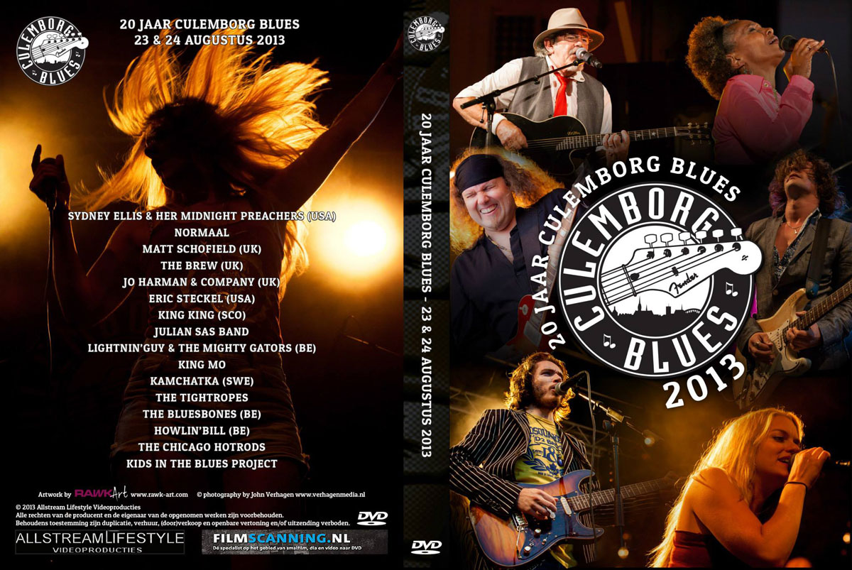 20 Years Culemborg Blues DVD Inlay