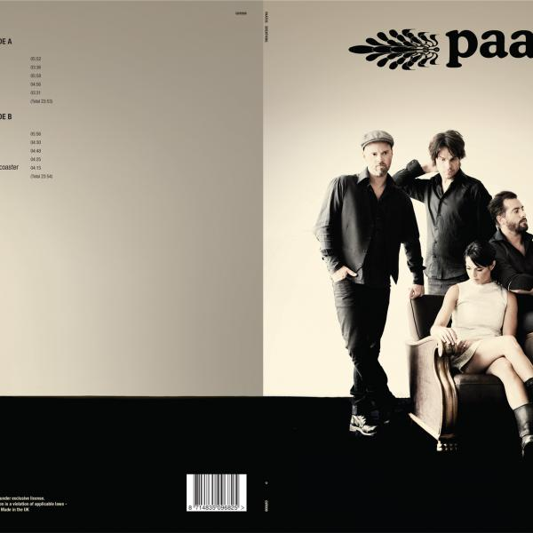 Paatos - 'Breathing' Gatefold outside