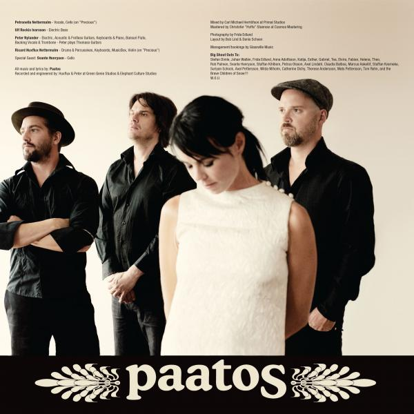 Paatos - 'Breathing' inner sleeve front